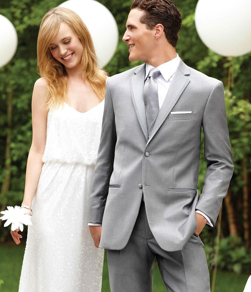 Grey Suits Wedding