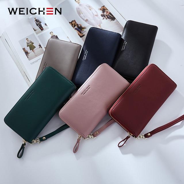 Women Long Clutch Wallet Large Capacity Wallets Female Purse Lady Purses Phone Pocket Card Holder Carteras 37
