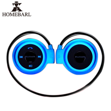 HOMEBARL MINI 503 กีฬาเพลงหูฟังไร้สาย Bluetooth 4.0 หูฟัง Mini503 สูงสุดสนับสนุน 32GB Micro SD TF Card FM วิทยุใหม่