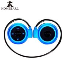 HOMEBARL Mini 503 Sport Music Bluetooth 4.0 Wireless Headphones Earphones Mini503 Max Support 32GB Micro SD TF Card FM Radio New