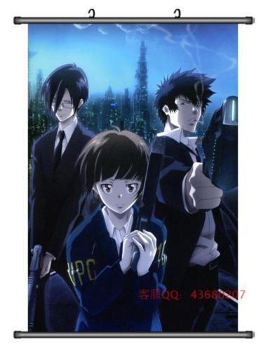Anime Psycho Pass Kougami Shinya Shogo Home Decor Poster Wall Scroll