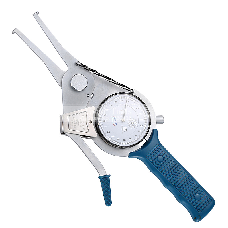 Inside Dial Caliper Gauges 15-35*50mm/0.01mm Metric Shockproof Carbide Points Micrometer Measuring Tools цена