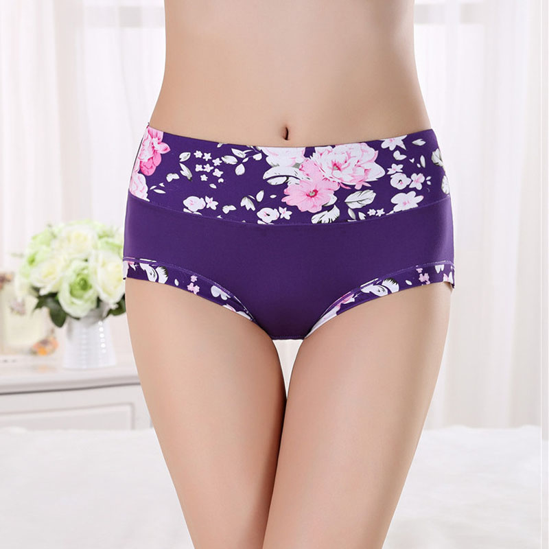 d282334f2b9 Underwear Women Cotton Panties Girls Transparent Panties Panty Shorts  Women s Sexy Lingerie Printed Briefs Calcinha Underpants-in women s panties  from ...