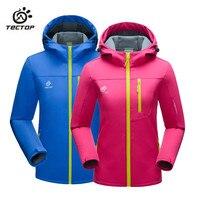 2016 Spring Autumn Lovers Men Women Outdoor Softshell Hiking Jackets Polar Fleece Inner Thermal Softshell Coats