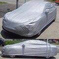 Coche de la alta Calidad Cubre el Tamaño S/M/L SUV Impermeable Sun UV Nieve Polvo Completo Cubierta Del Coche Lluvia Protección resistente de Plata