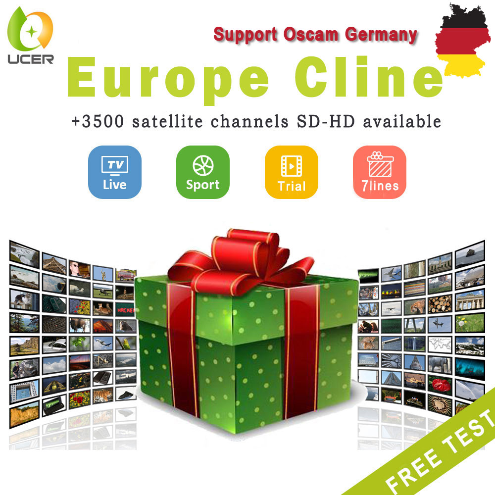 Cc Cline For 1 Year Europe 7 Clines Satellite Receiver Cam Support Spain Portugal Poland For Freesat V7 Gtmedia V8 Nova Receptor