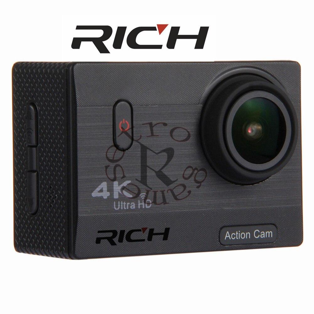 F69 4 К Широкий формат действие Камера Водонепроницаемый HD Экран Поддержка карты памяти SD расширяемый до 128 ГБ