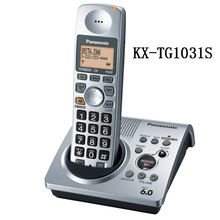1 Телефон KX-TG1031S цифровой телефон 1.9 ГГц DECT 6.0 Беспроводной телефон с автоответчиком(China (Mainland))