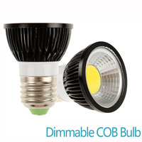 Dimmable Spot Lamp LED Bulb E27 Cob Mr16 GU10 3000K 6000K Warm Cold White 5W 7W