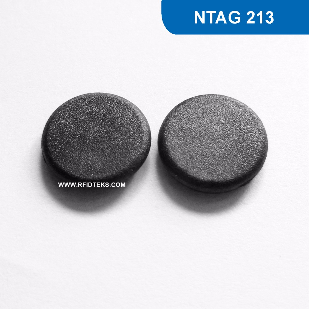 G13 Dia 13mm RFID Mini Tag Passive RFID high temperature NFC Tag 13.56MHZ 144BYTES R/W ISO14443A with NTAG 213 Chip password management short range nfc module rfid 13 56mhz tag reader