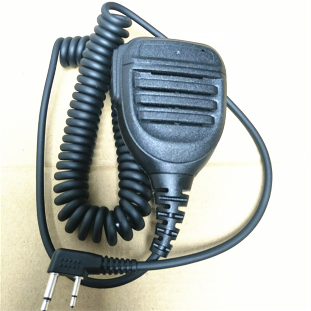 OPPXUN 2 épingle microphone pour ICOM V8 F21 F11 V82 V85 F26 F22 talkie walkie microphone