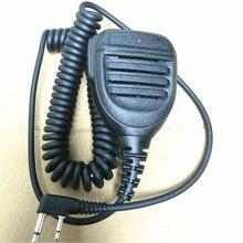 Oppxun 2 контактный Бенд микрофон для ICOM V8 F21 F11 V82 V85 F26 F22 портативная рация микрофон