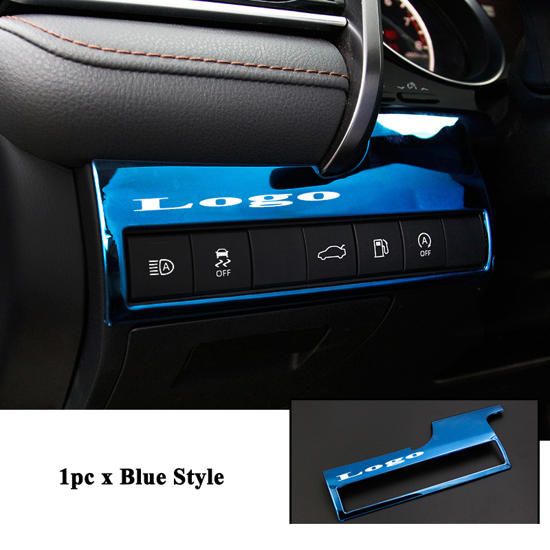 1pc Styling Car Headlight Trunk Switch Decoration Frame Cover Trim Sticker Refit Car Accessories for Toyota Camry 2018 2019 in Automotive Interior Stickers from Automobiles Motorcycles