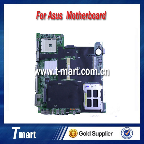 ФОТО 100% working Laptop Motherboard for ASUS A6U System Board fully tested