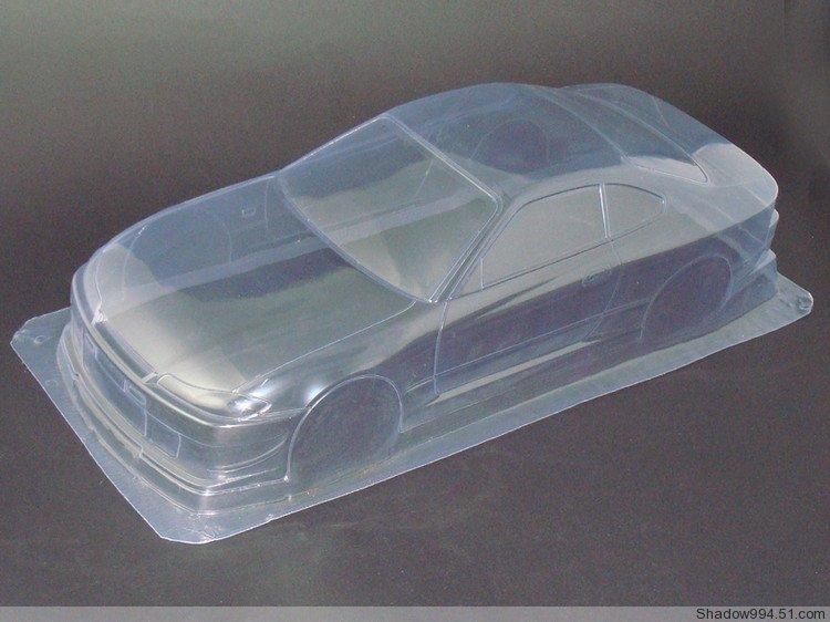2 stks / partij Silvia7 S15 1/10 1:10 PVC Transparante schoon geen - Radiografisch bestuurbaar speelgoed
