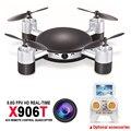 MJX X906T Mini RC Drone Quadrocopter 6-AXIS GYRO RC Drone Helicóptero FPV HD Camera Wifi Mando Brinquedo Helicóptero de Controle Remoto