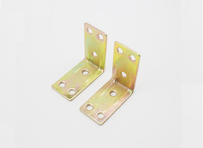 100pcs Furniture Fitting Kitchen Cabinet Corner Brackets Furniture