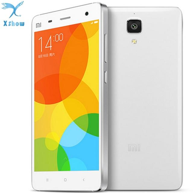 """Оригинальный Xiaomi Mi4 Qualcomm Snapdragon801 4 ядра мобильный телефон 3 ГБ Оперативная память 16 ГБ Встроенная память 5.0 """"IPS 13MP камеры"""