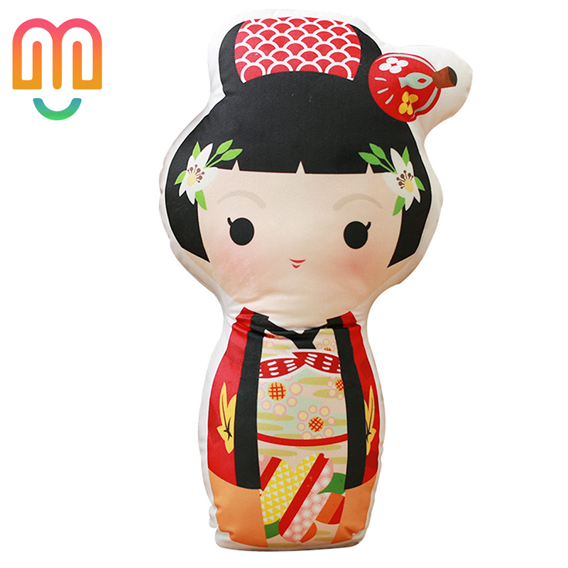 Aliexpress com : Buy 60CM Creative Cute Japanese Kobe Features Kimono Doll  Pillow Plush Toy Doll For Gifts from Reliable Movies & TV suppliers on D&M