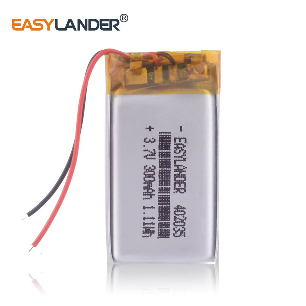 <font><b>3.7V</b></font> lithium polymer <font><b>battery</b></font> 042035 <font><b>402035</b></font> 300MAH MP3 MP4 MP5 <font><b>battery</b></font> Bluetooth headset <font><b>battery</b></font> image