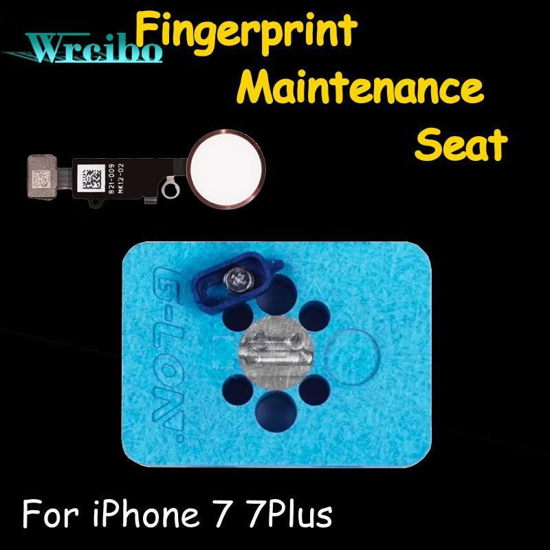 imágenes para Wrcibo para iPhone 7 plus 7 7 P botón de inicio rápido herramientas de reparación U10 chip ic Especial-propósito de Huellas Dactilares plataforma de mantenimiento