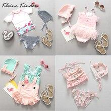 baby girl flamingo swimwear childrens swimsuit cartoon lovely bathing suit swimsuits for girls kids bikini tankini beachwear