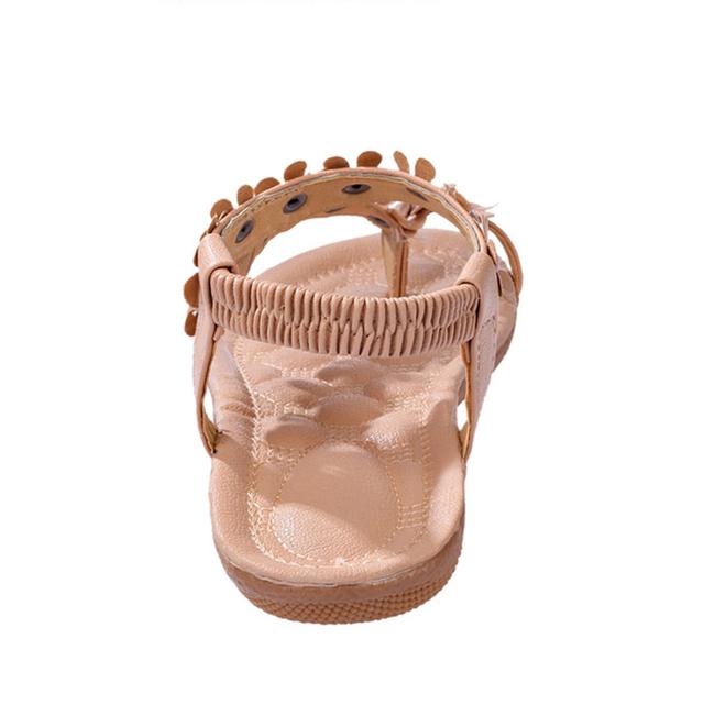 VTOTA Summer Beach Shoes Women Sandals Women Breathable Ladies Shoes Bohemia Women Shoes Flower Sandals Flats Flip Flops 426