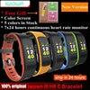 IWOWN I6 HR C Smartband Color Screen Heart Rate Monitor Smart Bracelet Sport Wristband Smart Band
