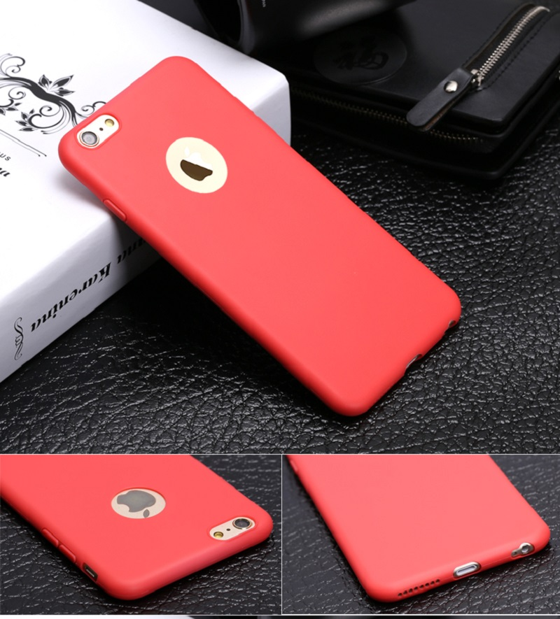 fashion solid color slim soft silicone best coque cover for applefashion solid color slim soft silicone best coque cover for apple iphone 6s 5 6 s 5s se 7 plus cases accessories coque fundas in half wrapped case from