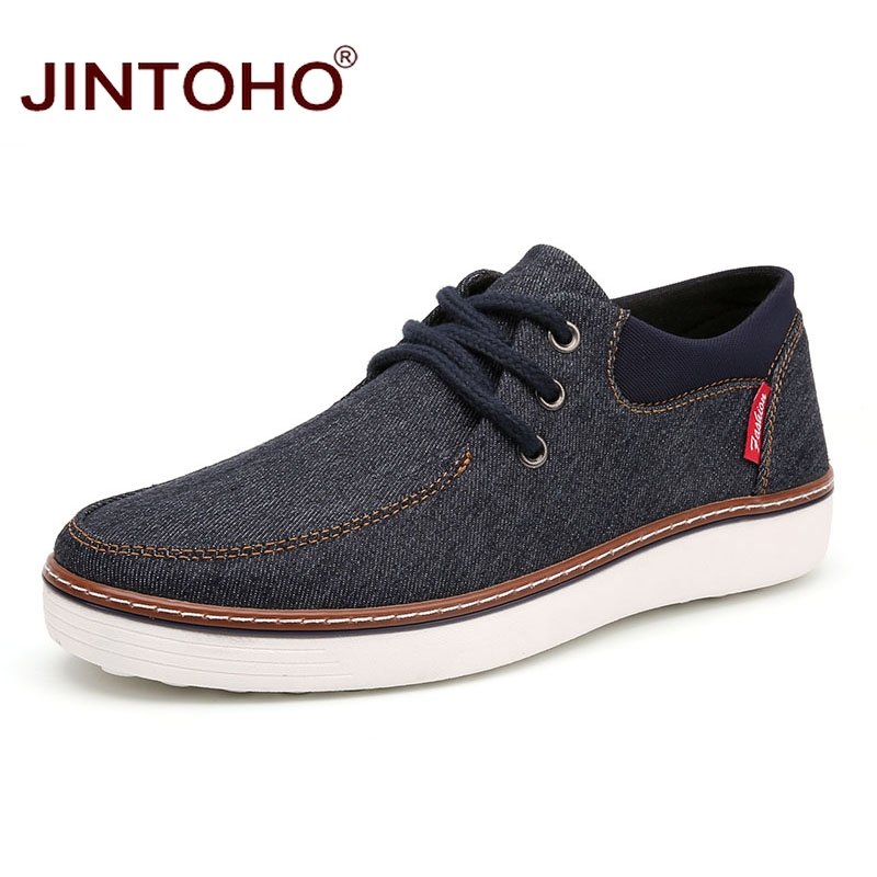 jintoho 2017 new brand shoes fashion casual mens shoes