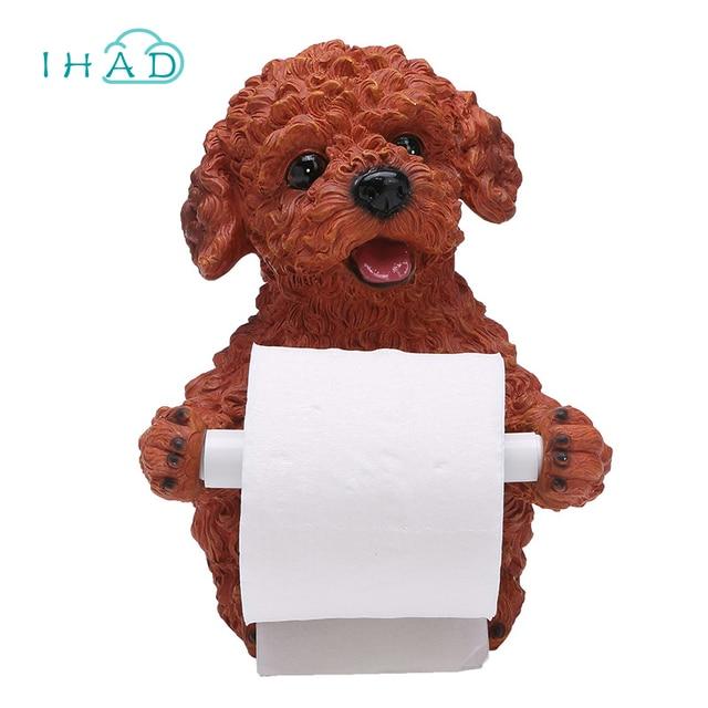 Cute Animal Tissue Box Desktop Bathroom Tissue Canister Roll Paper Holder Toilet  Paper Organizer Living Room