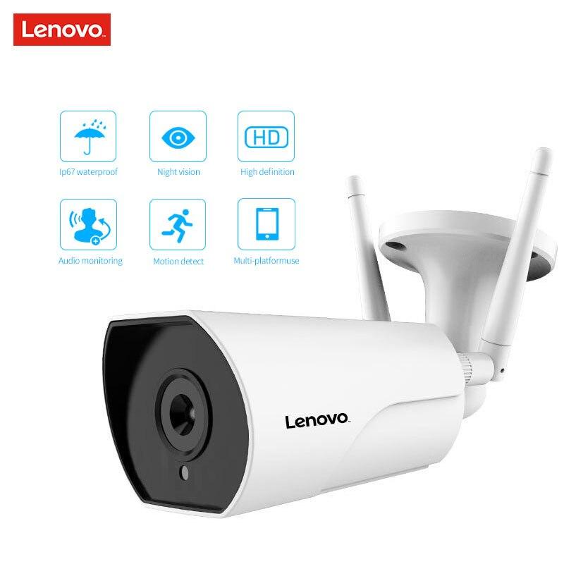 LENOVO double antenne caméra IP ONVIF 1080 P caméra de vidéosurveillance étanche extérieure HD Vision nocturne Wifi caméra de Surveillance sans fil - 2