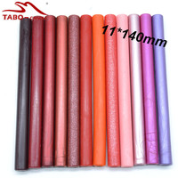Candy Cute Orange Pink Purple Red Wine Colored Sealing Wax Stick for Wedding Invitation Decoration Favor - 32 Color Options