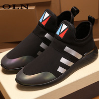 oln New Men Running Shoes Outdoor Athletic Brand Walking Shoes Sport Shoes For Men Super Light Men's Shoes Outdoor jogging 2018