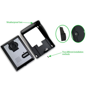 Image 3 - สายบ้านประตูวิดีโอIntercom Doorbell 4.3 นิ้วอินฟราเรดNight Vision 25 ริงโทนIP54 กันน้ำประตูEntry System