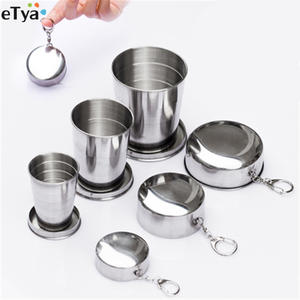eTya Folding Portable Travel Collapsible Cup With