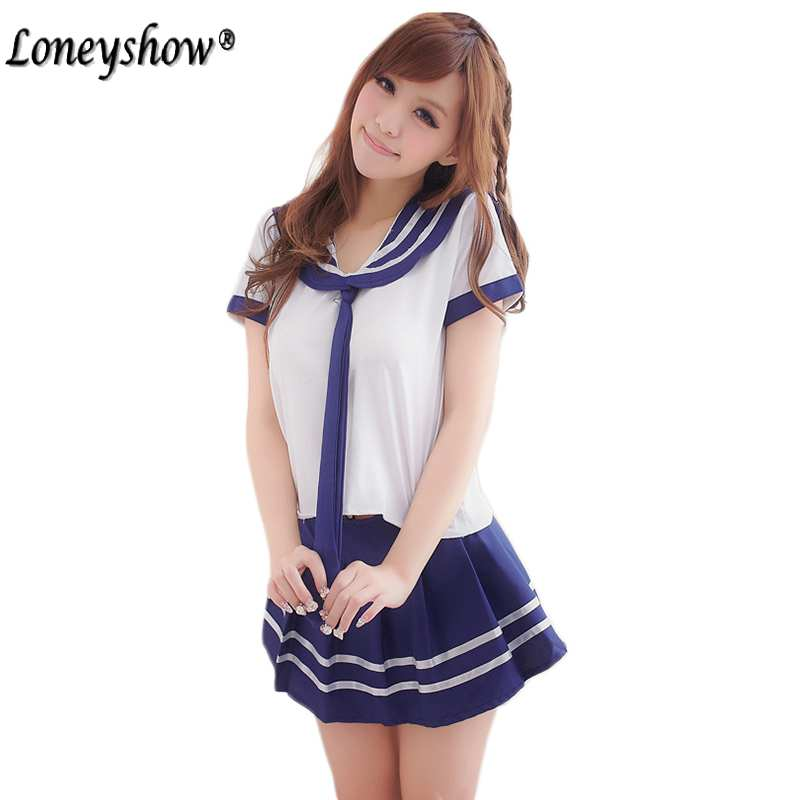 Hot COSPLAY student uniforms Sexy lingerie women costumes font b Sex b font Products font b