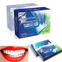 28 шт./14 пар 3D белые гелевые отбеливающие полоски для зубов, набор для ухода за полостью рта, полоски для накладных зубов, виниры для стоматолога, seks