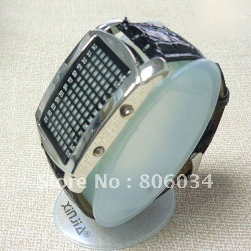 YM FREE dropshipping!South Korea Intercrew Black LED Watch with 72 Super Bright LED Lights