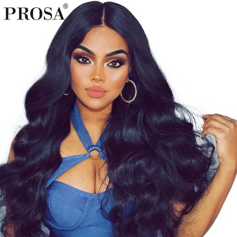 Full Lace Human Hair Wigs 250% Density Brazilian Body Wave Wig Glueless Full Lace Wigs Human Hair With Baby Hair Prosa Remy
