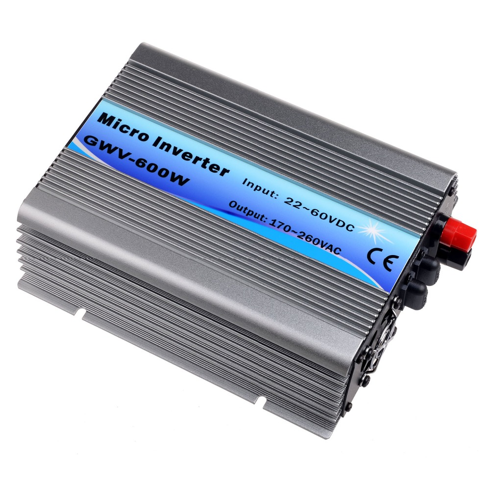 600W Grid Tie Inverter DC22V-60V to AC230V(190-260VAC) Pure Sine Wave Inverter 600W 50Hz/60Hz(Auto Control) CE DC to AC Inverter 400w grid tie inverter dc22v 60v to ac230v 190 260vac pure sine wave inverter 400w 50hz 60hz auto control ce dc to ac inverter