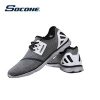 SOCONE Brand Light Running Shoes Men And Women EVA Sports Shoes Run Shox Breathable Comfortable Mesh