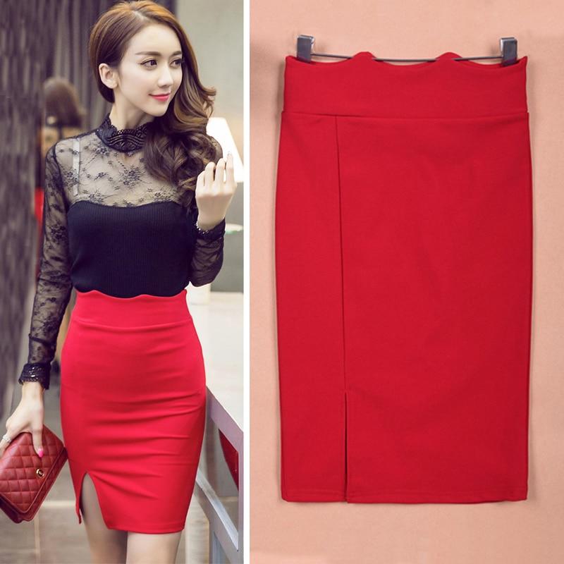 aliexpress buy high waist pencil skirt bodycon