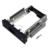 """1 unid Herramienta Libre 5.25 Pulgadas Espacio de CD-ROM HDD Marco/Bastidor Móvil Convertidor de Caja de Caja de la PC, fit 3.5 """"SATA Unidad de Disco Duro de instalación"""