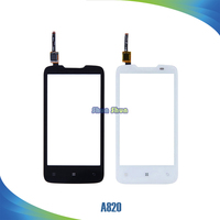 10pcs A820 Touch Screen for Lenovo A820 Touch Screen Digitizer Sensor Front Glass Lens Panel Black White Mobile Phone Parts