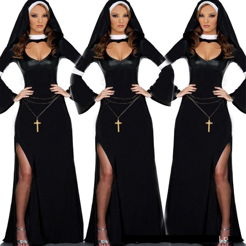 Aliexpresscom  Buy 2016 Sexy Costumes Sexy Nun Costume -4531