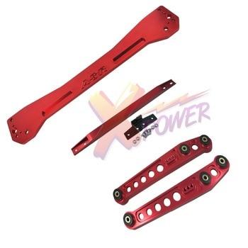 Rear Lower Control Arm Subframe Brace Tie Bar For 1996 1197 1998 1999 2000 Honda Civic EK-Red,Blue,Gold,Black,Silver,Purple header civic eg