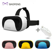 2016 Baofeng Mojing XD Xiao D VR Occhiali 3D Bicchieri di Realta Virtuale Casco Per Smartphone + Controller Bluetooth VR718
