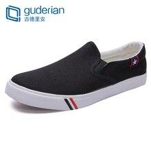 GUDERIAN Comfortable Man Flats Shoes Casual Mens