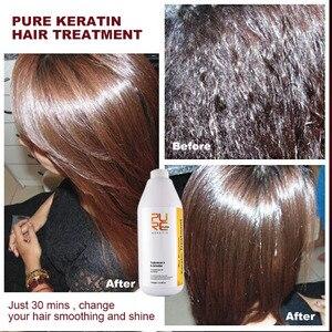 Image 3 - PURC keratyna 12% formalin 1000ml keratyna prostowanie włosów i dokładne czyszczenie szampon do włosów pielęgnacja włosów i pielęgnacja skóry olej arganowy